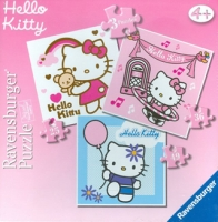 072170 Пазлы Hello Kitty  3 в1