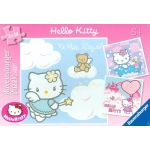 092710 Пазл Hello Kitty. 3*49 эл.