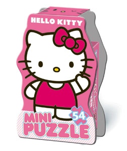 094516 Мини-пазл Hello Kitty 54 эл.